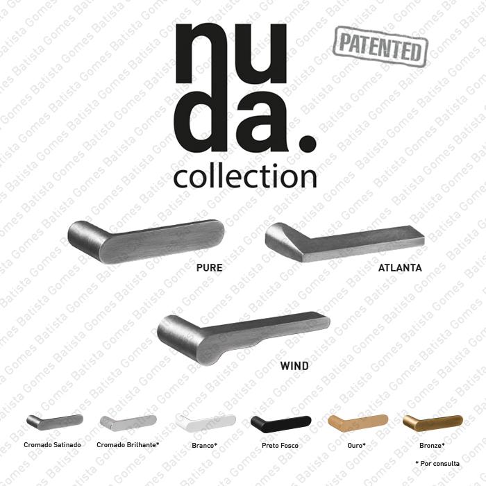 Batista Gomes - NUDA Collection - O único puxador sem roseta