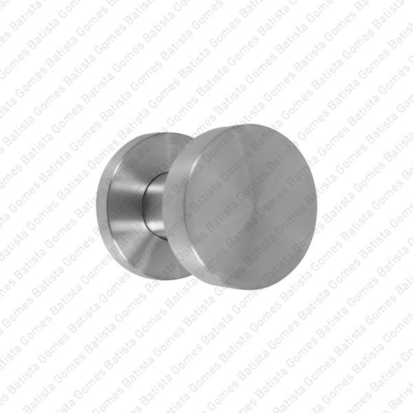 Batista Gomes - PF.IN.8006 / PR.IN.8006 - Puxador simples Fixo / Rotativo (Ø50) - INOX 304