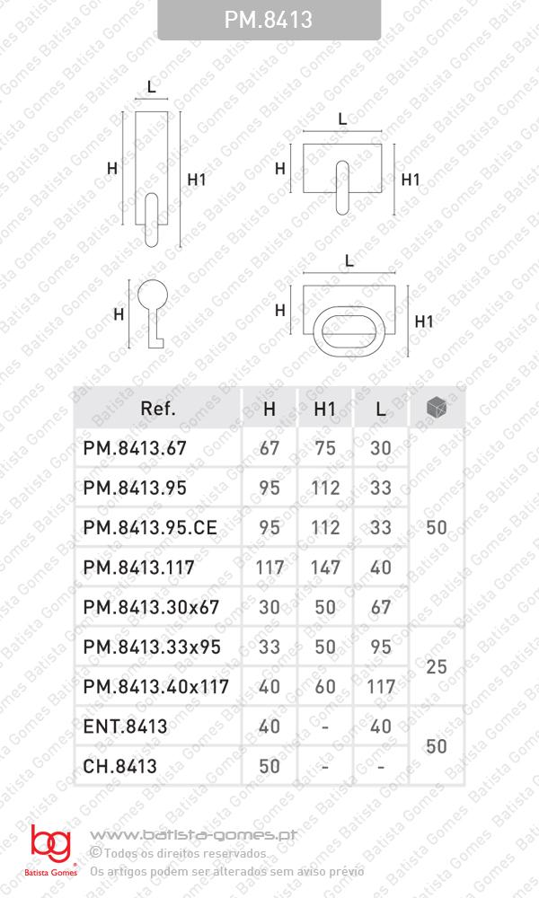 Puxadores / Asas para mobiliário - FERRO