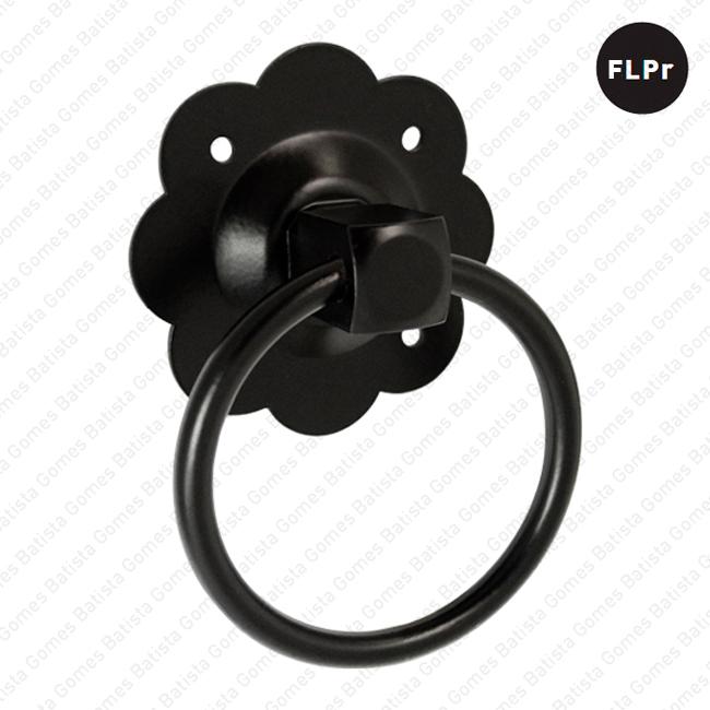 Batista Gomes - PR.2996 - Puxador rotativo com argola - FERRO