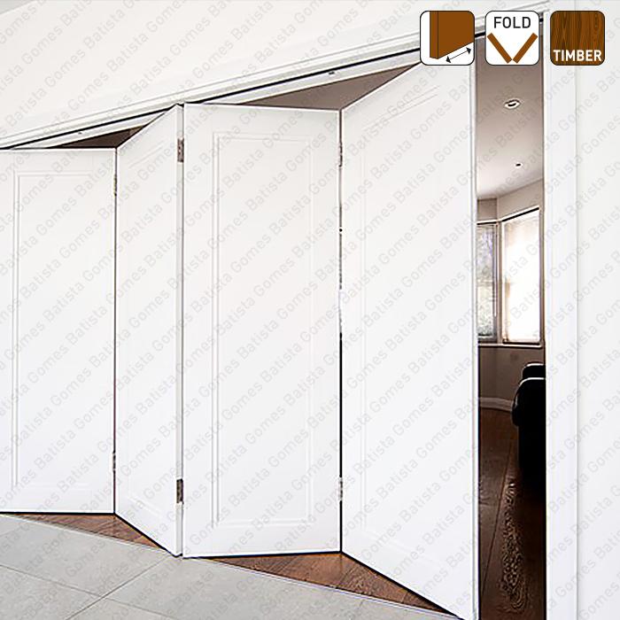 Sistema para divisões e portas correr de passagem em madeira / Articuladas / Suspensos - Até 65 / 150Kg por par de folhas
