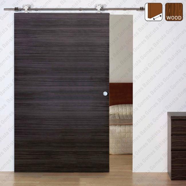 Batista Gomes - Inox Timber SF-INOX | SAHECO - Sistema para divisões e portas correr de passagem em madeira / Suspenso- Até 120 / 240Kgs por folha