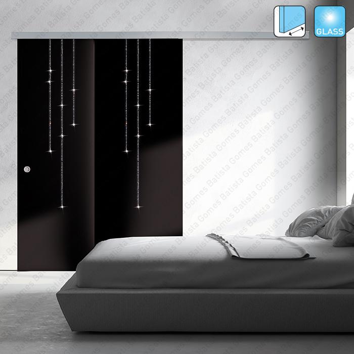 Batista Gomes - Multiplo Compact Glass SV-T-PRO X110 | SAHECO - Sistema para divisões e portas correr passagem em vidro - Até 110Kg por folha