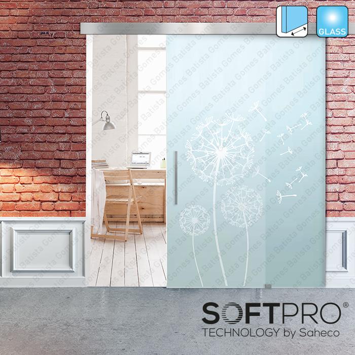 Batista Gomes - Compact Glass SV-X110 | SAHECO - Sistema para divisões e portas correr passagem em vidro - Até 110Kg por folha