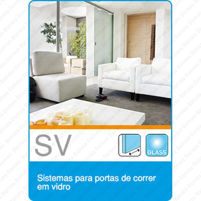 Batista Gomes - Cat�logo - Sistemas SV - Sistemas para divis�es e portas de correr em vidro - Cat�logo completo