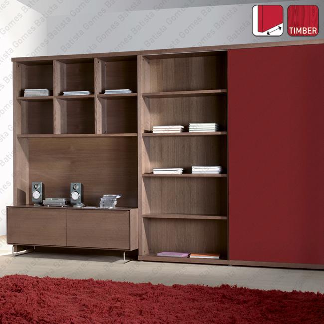 Batista Gomes - Click Timber SF-16 / SF-26 | SAHECO - Sistemas para portas de correr para móveis e armários em madeira / Suspensas - Até 26Kg por folha