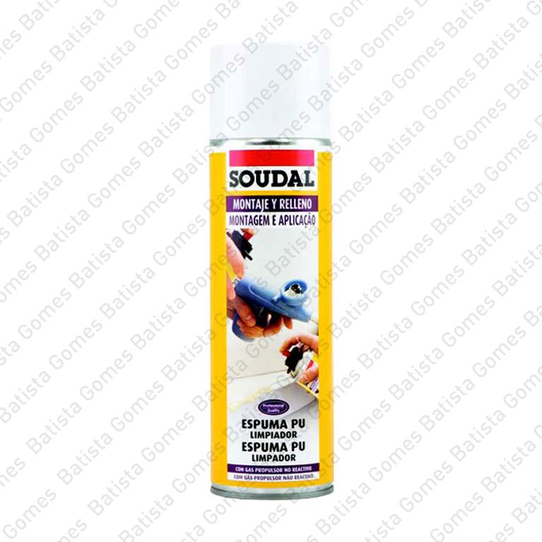 Spray limpeza espuma PU