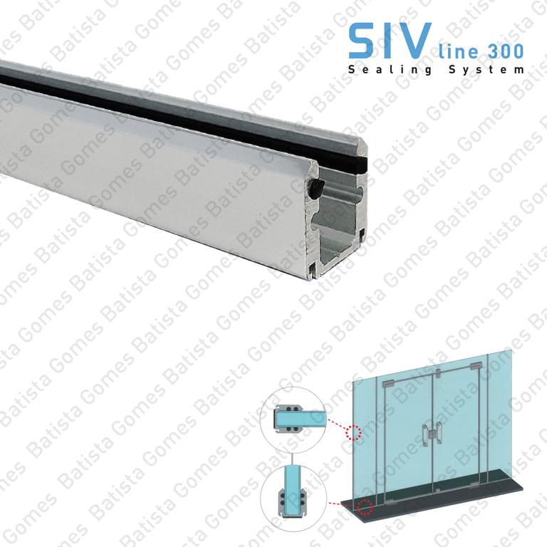 SIV.300.2 - GLASS / FLOOR