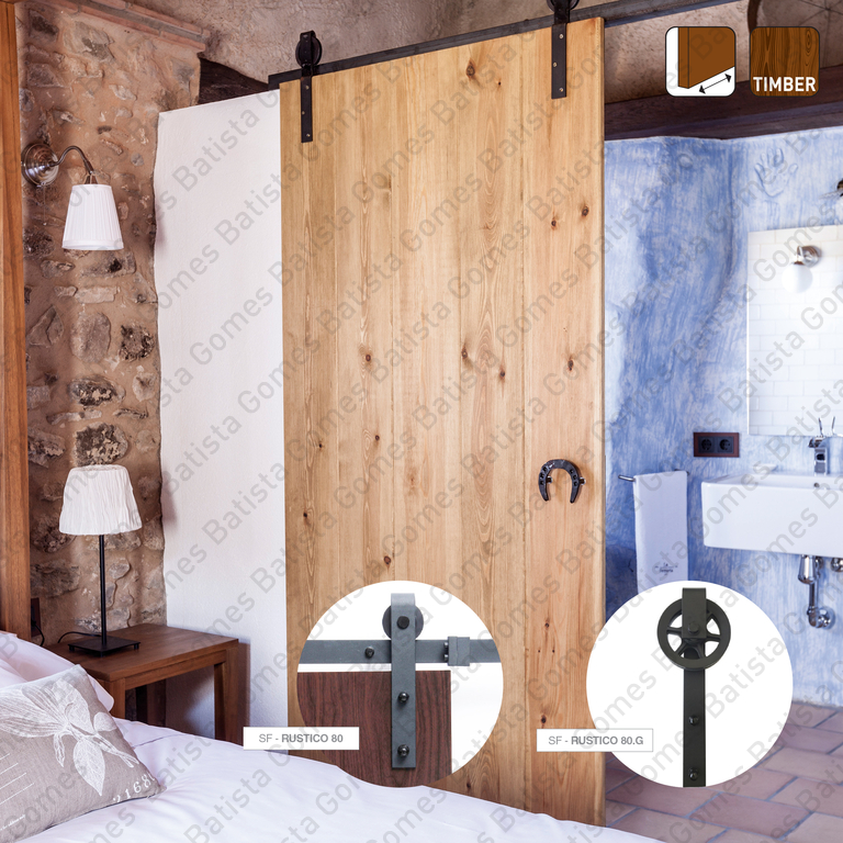 Rustico Timber / SF-Rustico 80/80.G | SAHECO