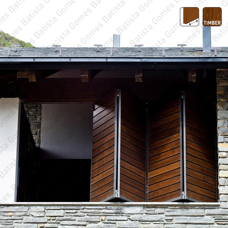 Fold Timber SF-A62D / A63D / A64D | SAHECO